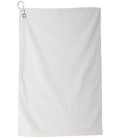 Carmel Towel Company C1518MGH Microfiber Golf Towel White
