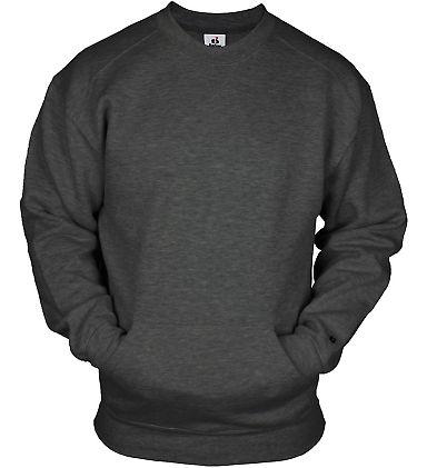 Badger Sportswear 1252 Pocket Crewneck Sweatshirt
