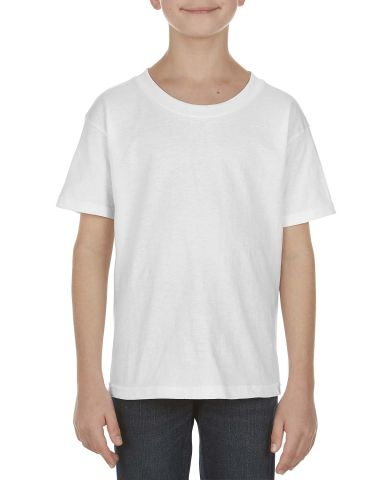 Alstyle 3981 Youth Tee White