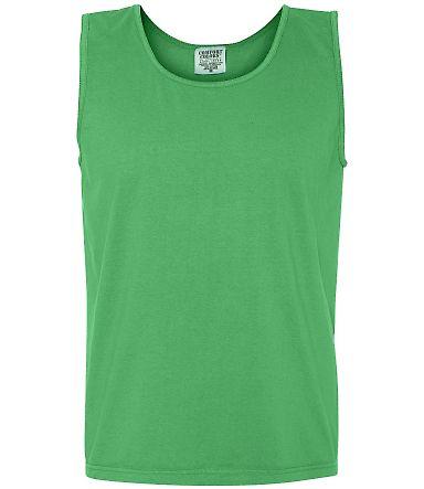 C9360 Comfort Colors Ringspun Garment-Dyed Tank NEON GREEN
