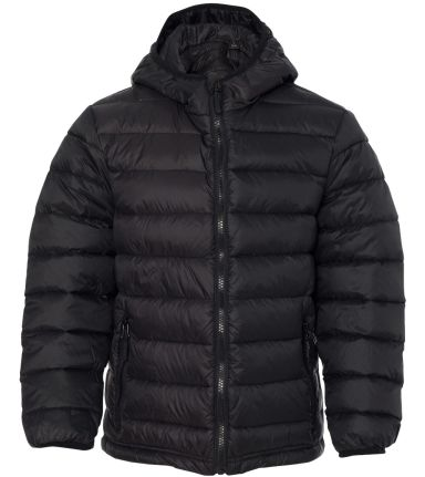 15600Y Weatherproof - Youth Packable Down Jacket Black