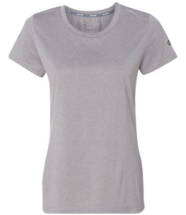 Champion CV30 Vapor Women's Performance Heather T-Shirt Oxford Grey Heather