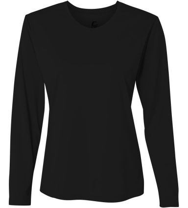 5604 C2 Sport - Ladies' Long Sleeve T-Shirt Black