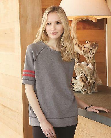 Alternative 5066 Women's Vintage French Terry Fifty Yardliner Sweatshirt