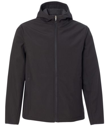 Colorado Clothing 9612 Antero Hooded Soft Shell Jacket Black/ Black