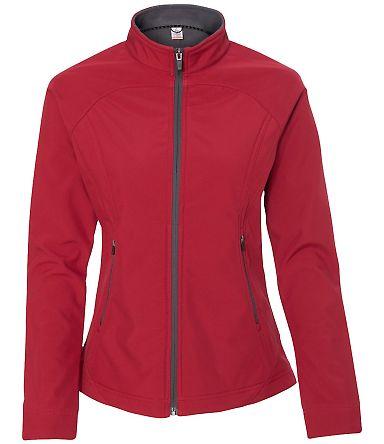 Colorado Clothing 9636 Women's Antero Mock Soft Shell Jacket Atomic/ City Grey