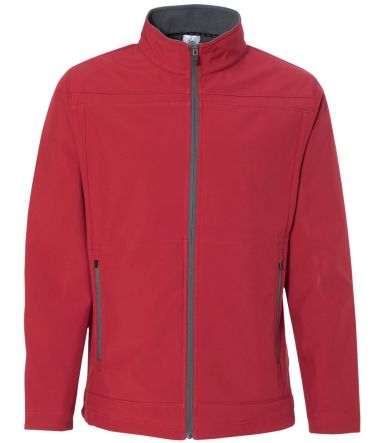 Colorado Clothing Outerwear 9635 Antero Mock Soft Shell Jacket Atomic/ City Grey