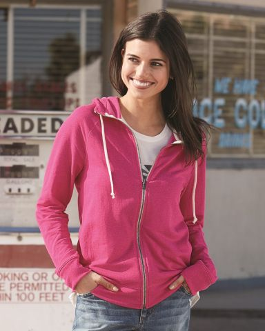 Champion AO650 Authentic Originals Women's French Terry Hooded Full-Zip
