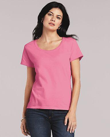 Gildan 64550L Softstyle Women's Deep Scoopneck T-Shirt