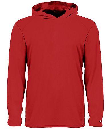 Badger Sportswear 2105 B-Core Long Sleeve Youth Hood Tee