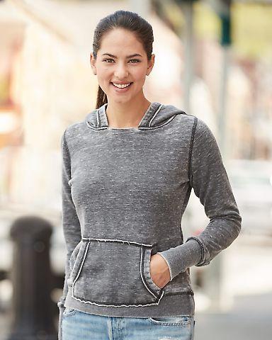 J8912 J-America Ladies' Vintage Zen Hooded Fleece