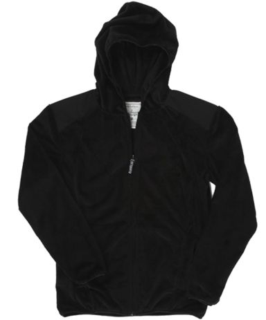 J America 8837 Ladies Full Zip Shag Hood