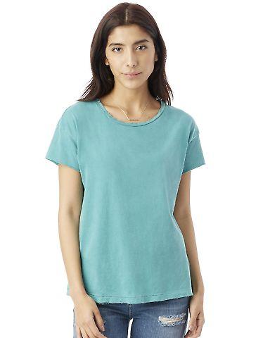 Alternative Apparel 04861C1 Ladies Distressed T-Shirt
