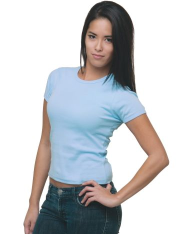 301 4539 Women's Cap Sleeve Tee
