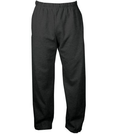 C2 Sport 5577 Open Bottom Sweatpant with Pockets Black