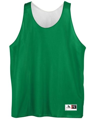 136 AUGUSTA REVERSIBLE MINI MESH LEAGUE TANK