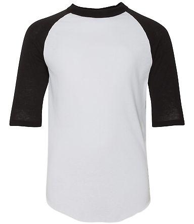 421 Augusta / YOUTH BASEBALL JERSEY White/ Black