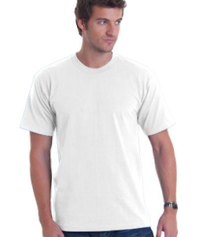 5040 Bayside Adult Short-Sleeve Cotton Tee White