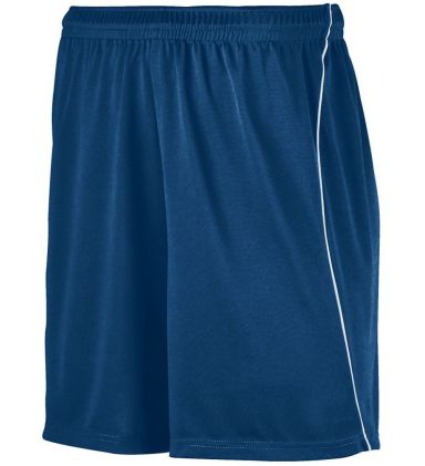 Augusta Sportswear 461 Youth Wicking Soccer Short with Piping