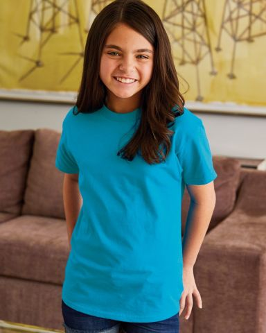 5450 Hanes® Authentic Tagless Youth T-shirt