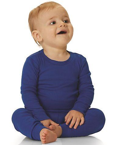 Rabbit Skins 101Z Infant Long Sleeve Baby Rib Pajama Top