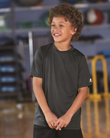 Russel Athletic 629X2B Youth Core Short Sleeve Performance Tee
