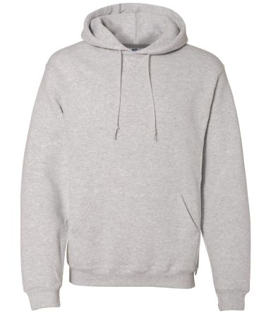 Russel Athletic 695HBM Dri Power® Hooded Pullover Sweatshirt Ash