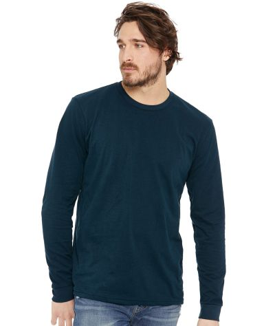 Next Level Apparel 6411 Unisex Sueded Long Sleeve Crew