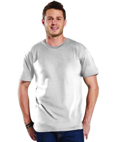 LAT 6905 Adult Vintage Fine Jersey Tee BLENDED WHITE
