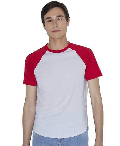 RSABB4237W Unisex Poly-Cotton Raglan T-Shirt