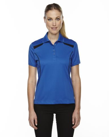 75112 Ash City - Extreme Eperformance™ Ladies' Tempo Recycled Polyester Performance Textured Polo