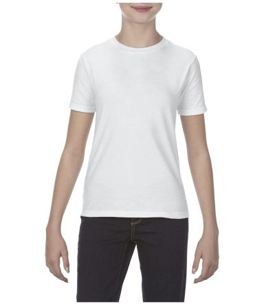 5081 Alstyle Youth Cotton Tee White