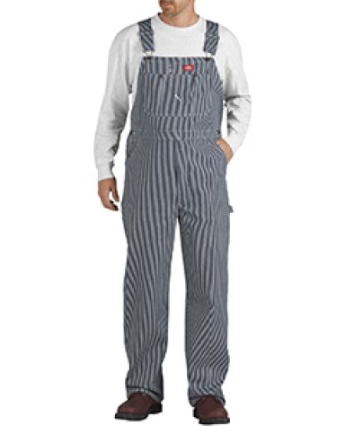 Dickies Workwear 83297 Unisex Hickory Stripe Bib Overall HICKRY STRIPE _30