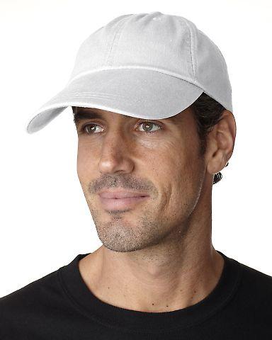 SB101 Adams Cotton Twill Pigment-Dyed Sunbuster Cap White