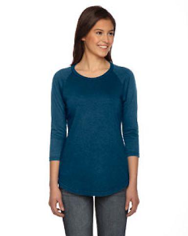 AP203W Authentic Pigment Ladies' True Spirit Raglan T-Shirt DENIM