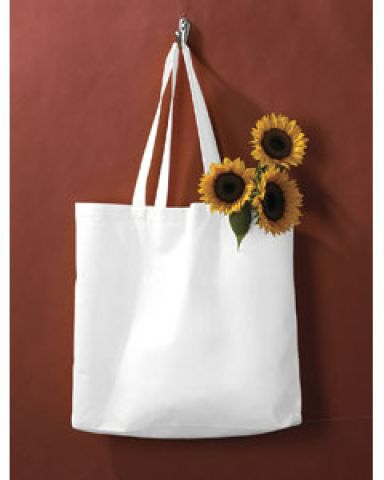 BE002 BAGedge Non-Woven Promo Tote WHITE