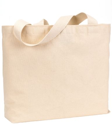 BS600 Bayside Jumbo Cotton Tote NATURAL