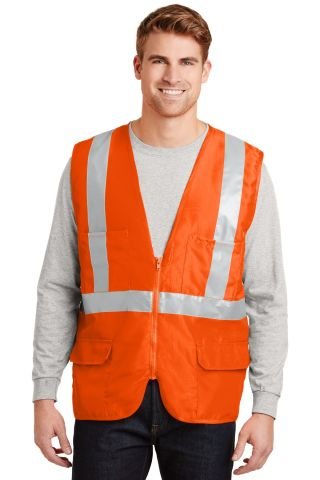 CornerStone ANSI Class 2 Mesh Back Safety Vest CSV405
