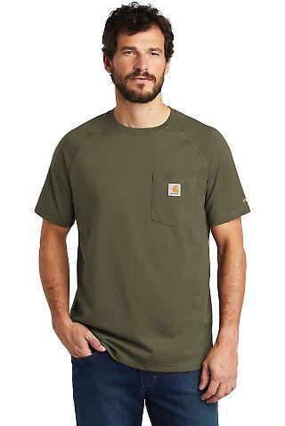 CARHARTT 100410 Carhartt Force  Cotton Delmont Short Sleeve T-Shirt