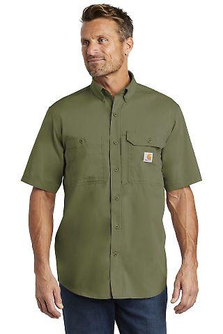CARHARTT 102417 Carhartt Force  Ridgefield Solid Short Sleeve Shirt