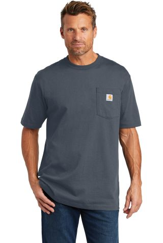 CARHARTT K87 Carhartt  Workwear Pocket Short Sleeve T-Shirt