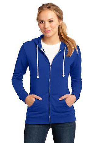 District Juniors Core Fleece Full Zip Hoodie DT290