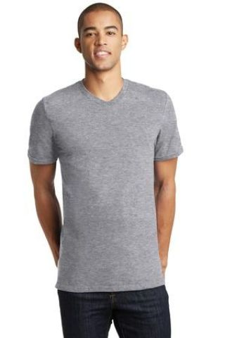 District Young Mens Concert V Neck Tee DT5500