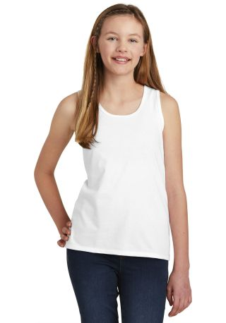 District Clothing DT6303YG District    Girls V.I.T.    Tank White