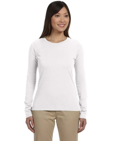 econscious EC3500 Ladies' 4.4 oz., 100% Organic Cotton Classic Long-Sleeve T-Shirt