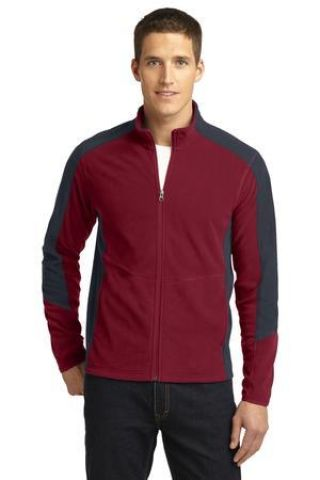 F230 Port Authority® Colorblock Microfleece Jacket
