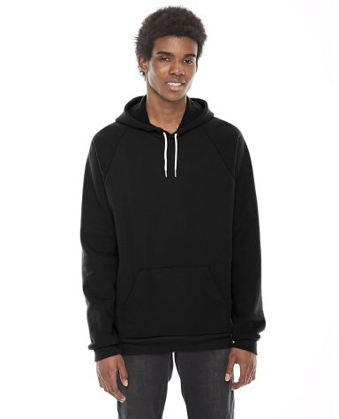 American Apparel HVT495 Classic Pullover Hoodie Black(Discontinued)