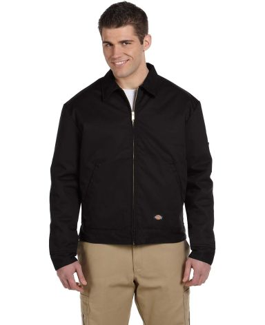 TJ15 Dickies Eisenhower Classic Lined Jacket BLACK
