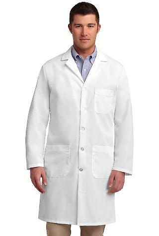 KP14 Red Kap Lab Coat White
