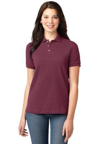 L420 Port Authority® - Ladies Pique Knit Polo